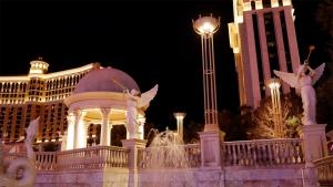 ベラージオ(Bellagio)ホテルの池