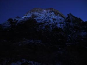 ザイオン 夜の風景