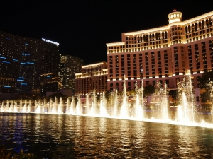 ベラージオ(Bellagio Las Vegas)の噴水ショー