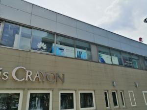 ファーウェイカスタマーサービスセンター銀座店のある銀座ファイブの外観の写真
