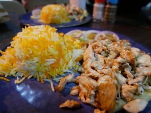 【フィリピン留学】バギオにあるアラブ料理の美味しいお店のご紹介。@bonabilチキンとライスの画像