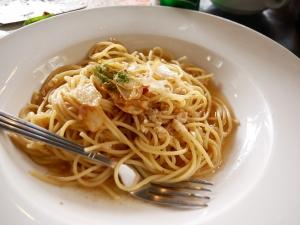 Seacret garden(シークレットガーデン)バギオで一番美味しいイタリアンレストランのペペロンチーノの画像