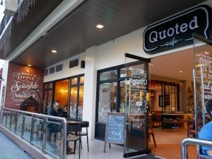 フィリピン(バギオ)の最強カフェQuoted Cafeの外観の画像