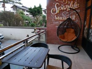 フィリピン(バギオ)のWi-Fi最強カフェQuoted Cafeのインスタ映えテラス席の画像
