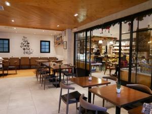 フィリピン(バギオ)のWi-Fi最強カフェQuoted Cafeの店内の画像