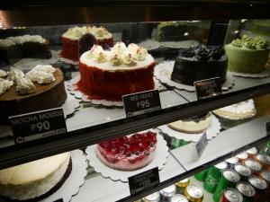 フィリピン(バギオ)のWi-Fi最強カフェQuoted Cafeのケーキの画像