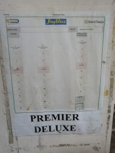 バギオからマニラまでJOYBUS完全ガイド予約方法とバスの乗り方ジョイバスの座席番号の画像