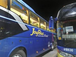 バギオからマニラまでJOYBUS完全ガイド予約方法とバスの乗り方ジョイバスの外観の画像
