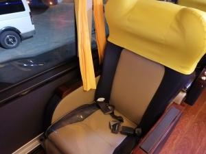 バギオからマニラまでJOYBUS完全ガイド予約方法とバスの乗り方ジョイバスのリクライニングシートの画像