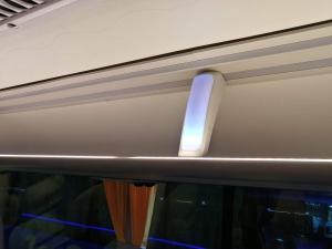 ギオからマニラまでJOYBUS完全ガイド予約方法とバスの乗り方車内座席の画像
