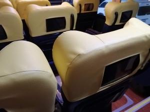 バギオからマニラまでJOYBUS完全ガイド予約方法とバスの乗り方ジョイバスの車内座席の画像