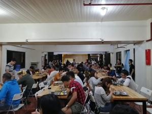 【フィリピン留学最安値の実態‼︎】MONOL(モノル)の食事・教師の質を徹底解説します。食堂の画像