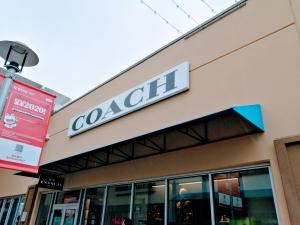 【完全保存版】超簡単‼︎トロントプレミアムアウトレット店舗の紹介 コーチ(COACH)の店舗画像